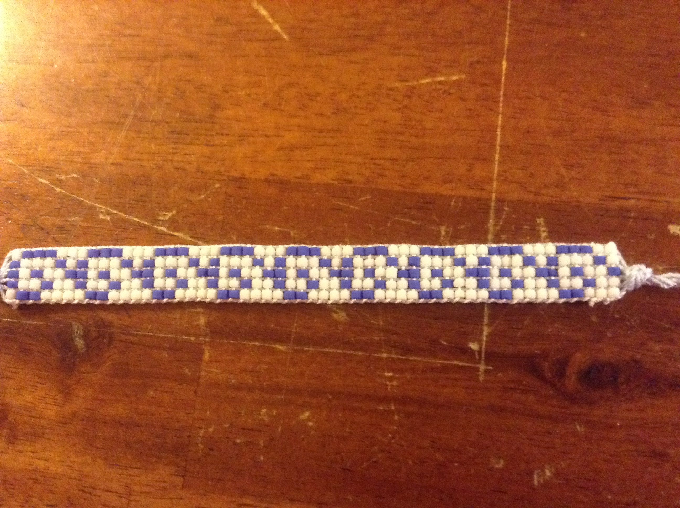 Seed bead spiral